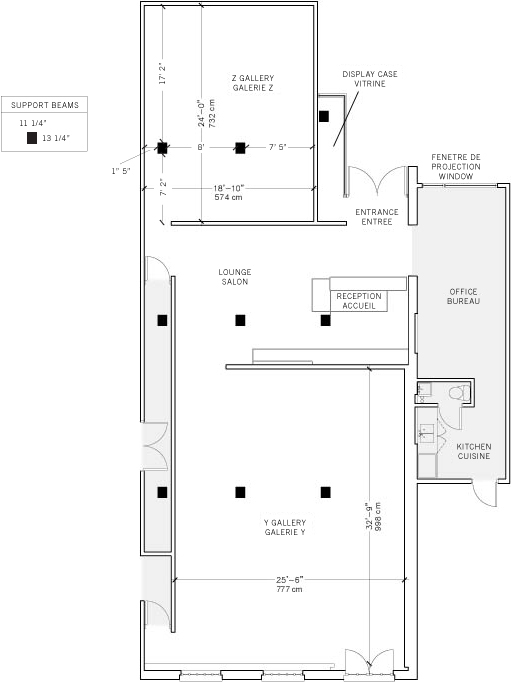 YYZ Floorplan
